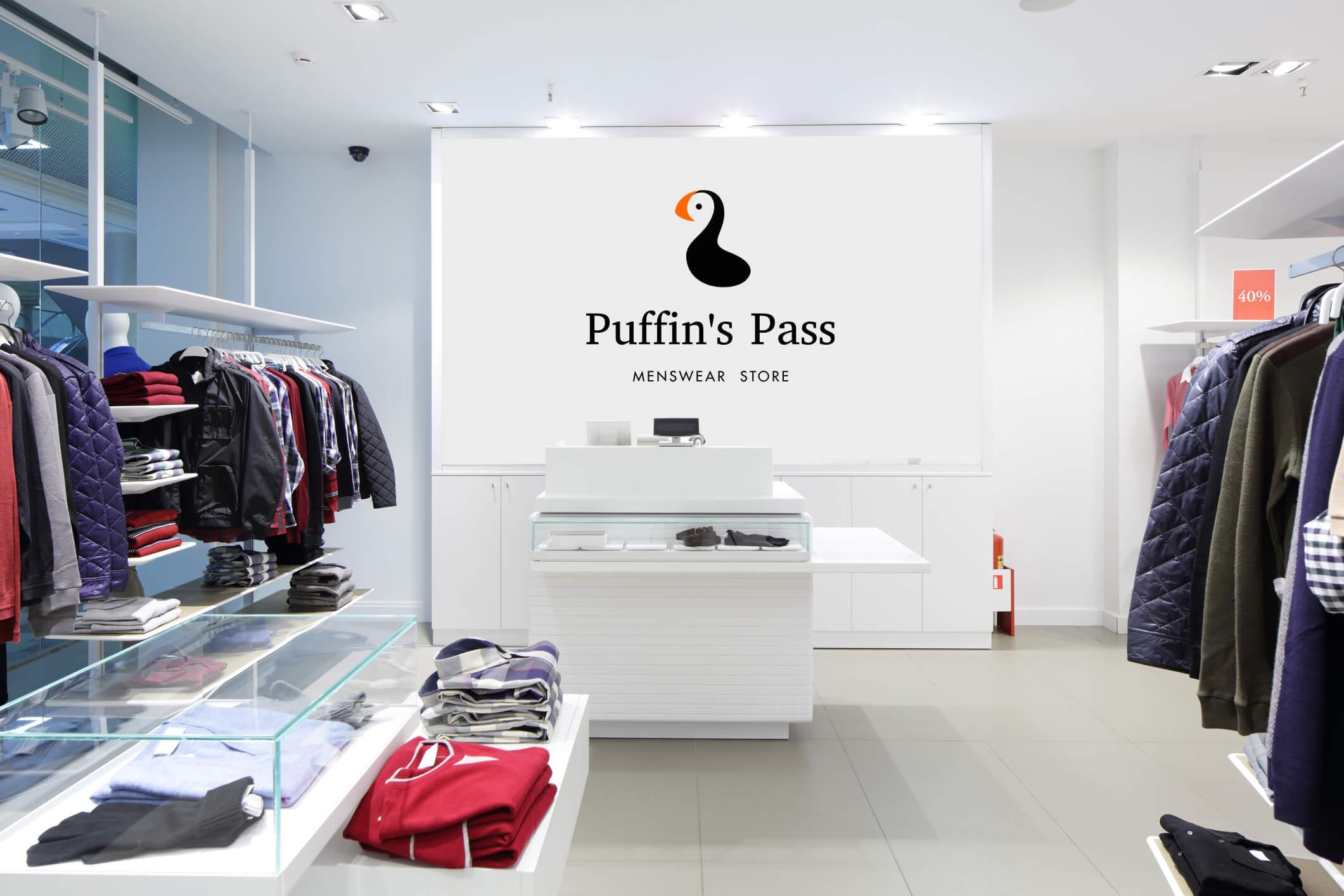 Логотип Puffin's Pass