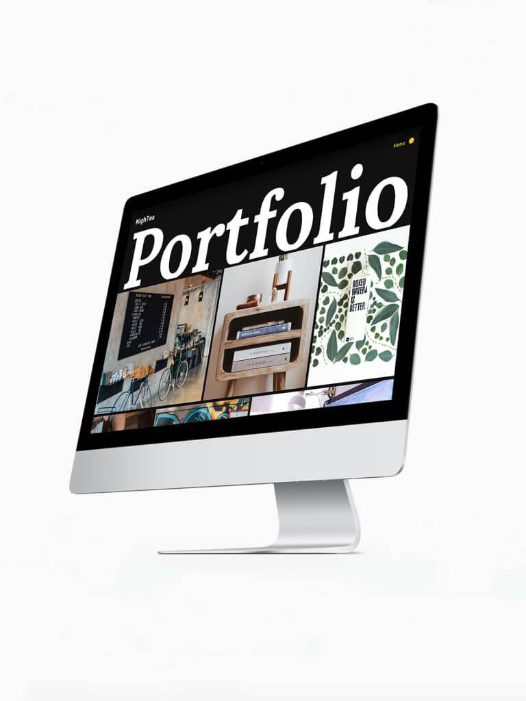 NighTea ⏤ Шаблон сайта для фотографов и иллюстраторов