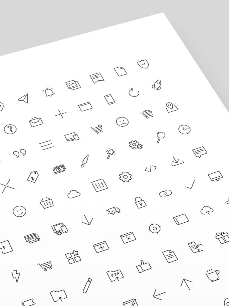 Mobirise icons
